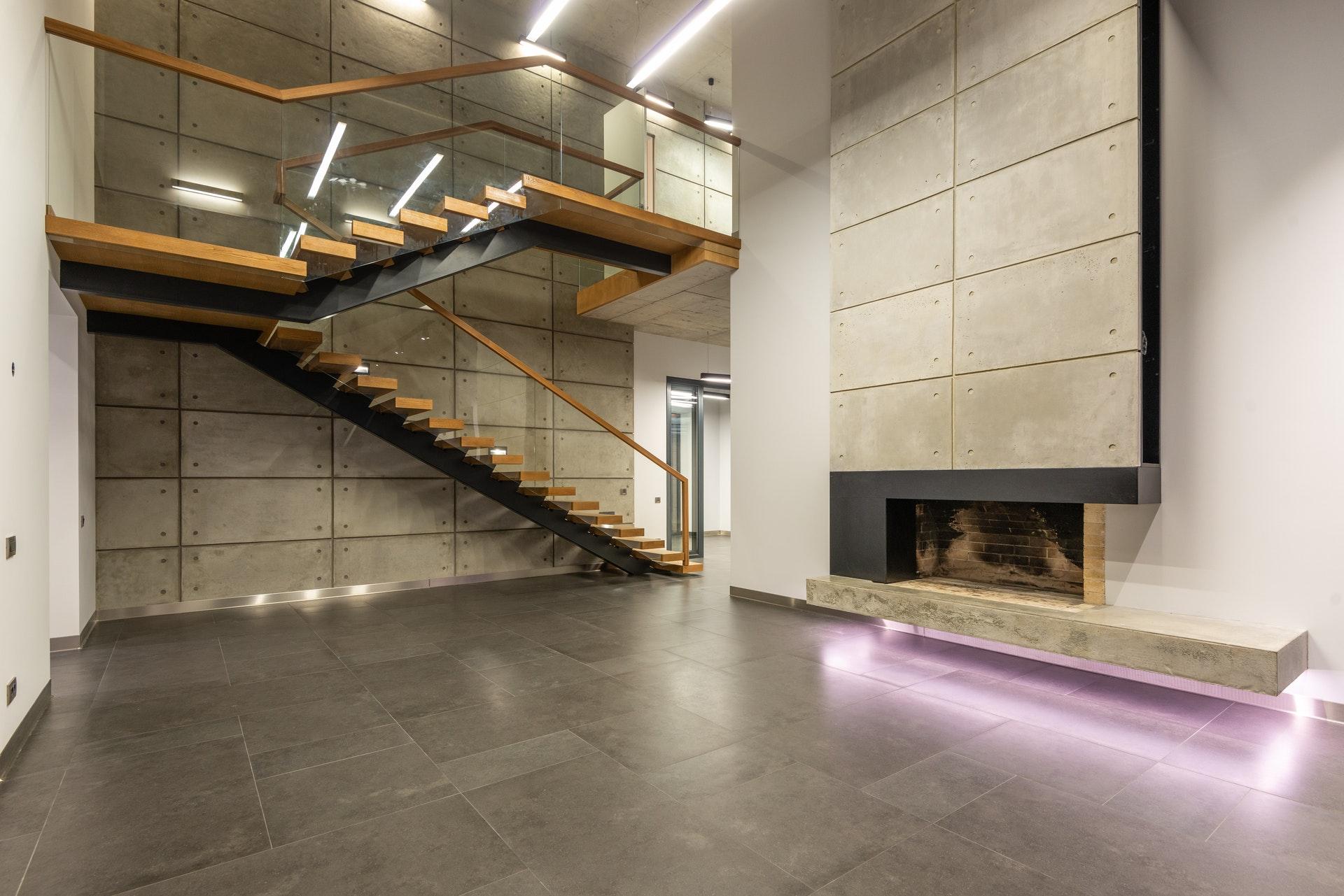 le choix de la couleur des murs en fonction de la nuance grisatre du carrelage